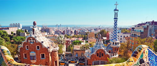 Picture of a holiday in Barcelona