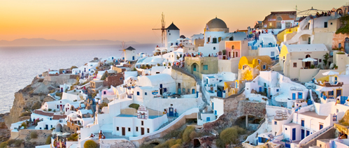 Picture of a holiday in Santorini