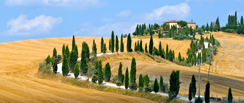 Picture of a holiday in Tuscany