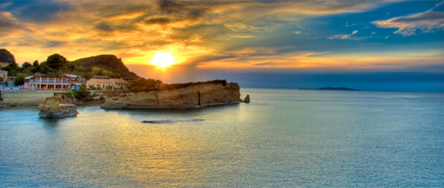 Picture of a holiday in Corfu