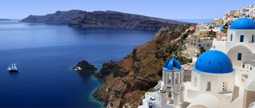 Picture of a holiday in Greece