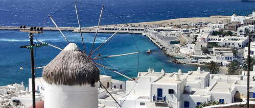 Picture of a holiday in Mykonos Town